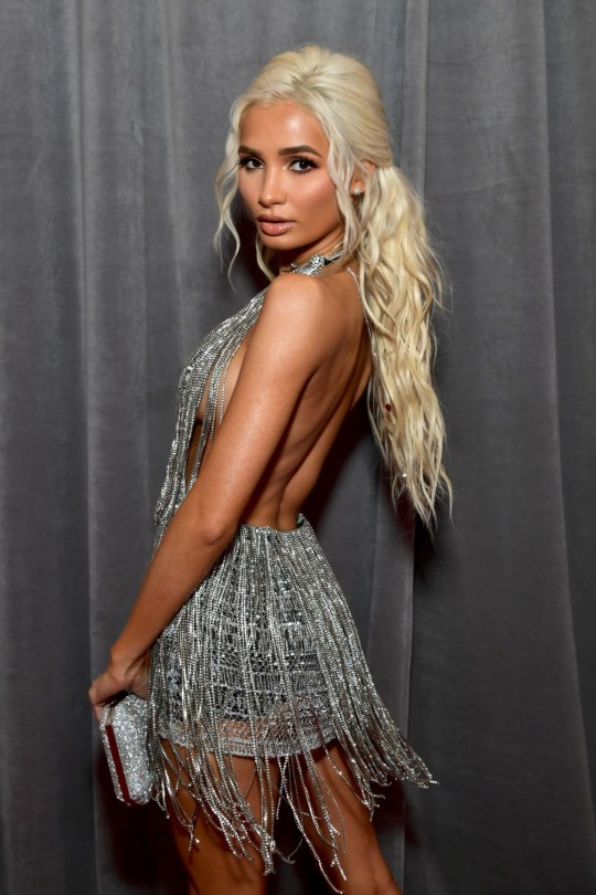 Pia Mia Perez Braless And Leggy