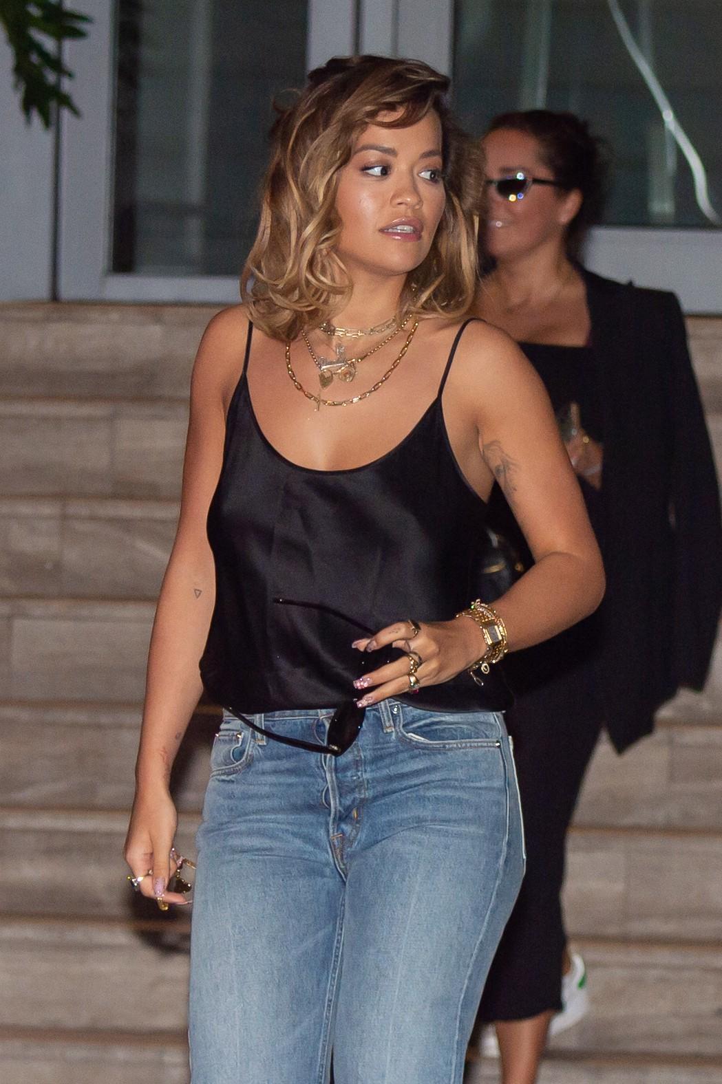 Rita Ora Sexy Top