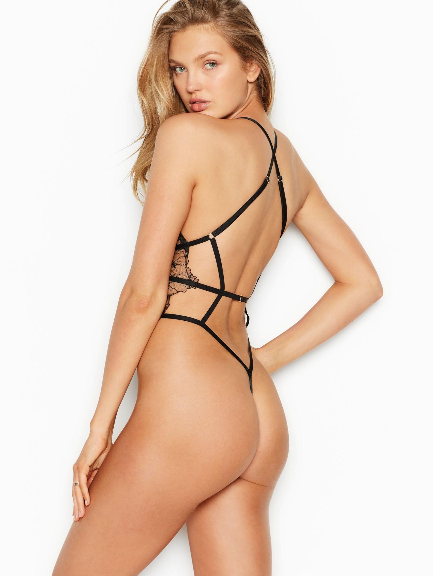 Romee Strijd Sexy Lingerie