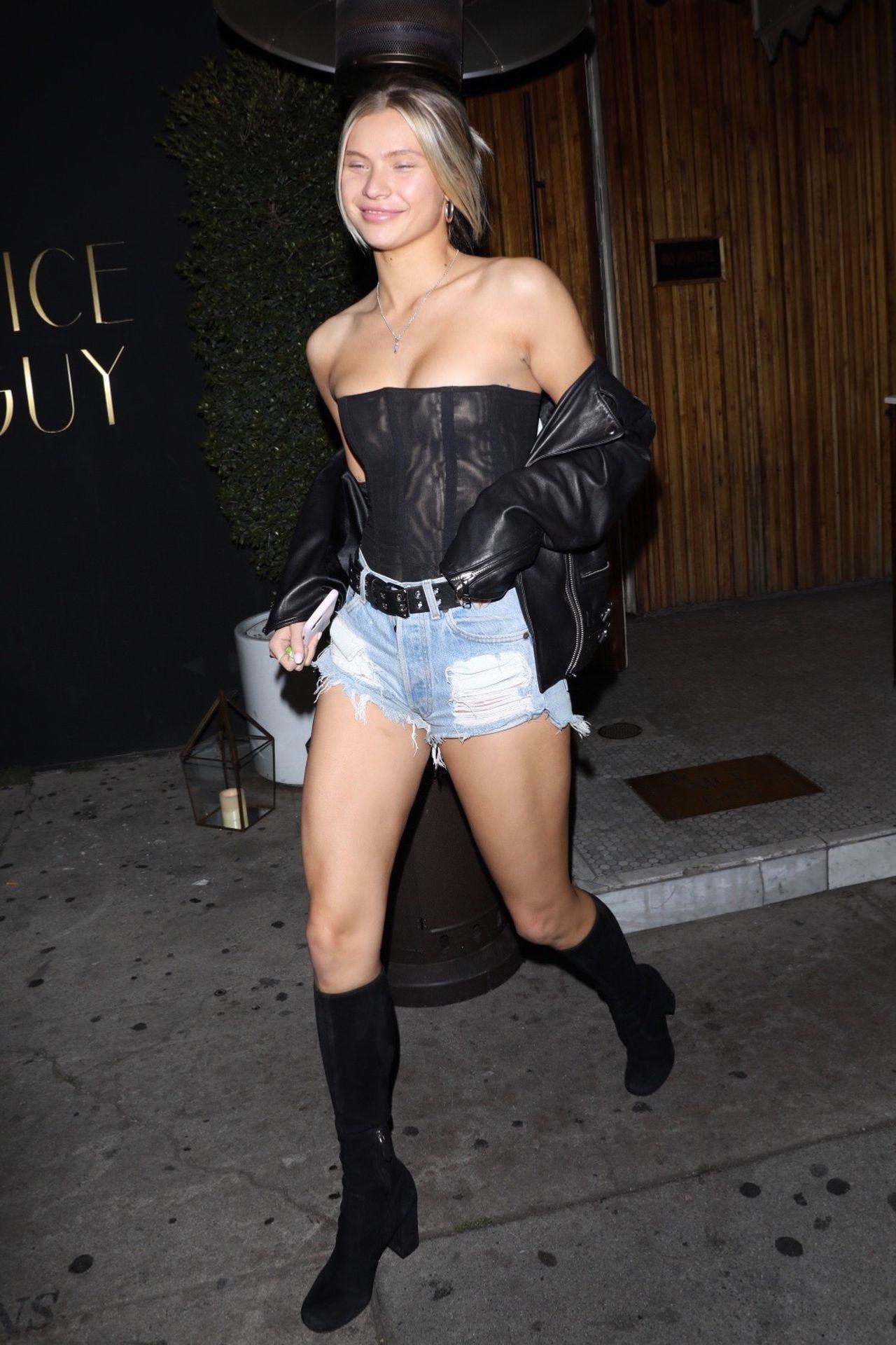 Josie Canseco Hot Denim Shorts