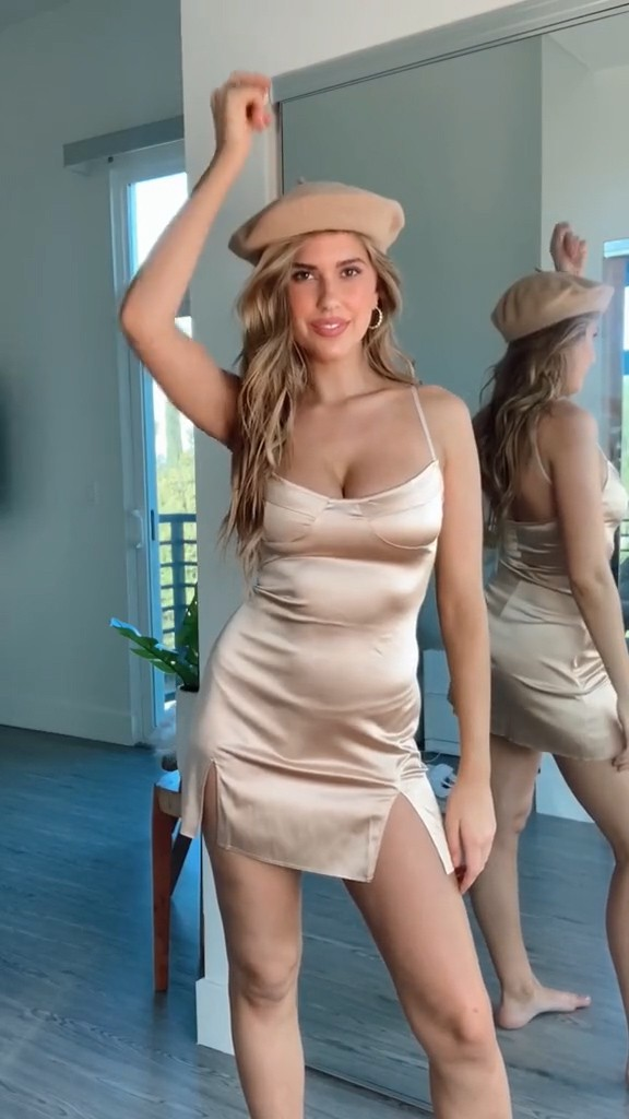 Kara Del Toro Sexy Boobs In Hot Dress