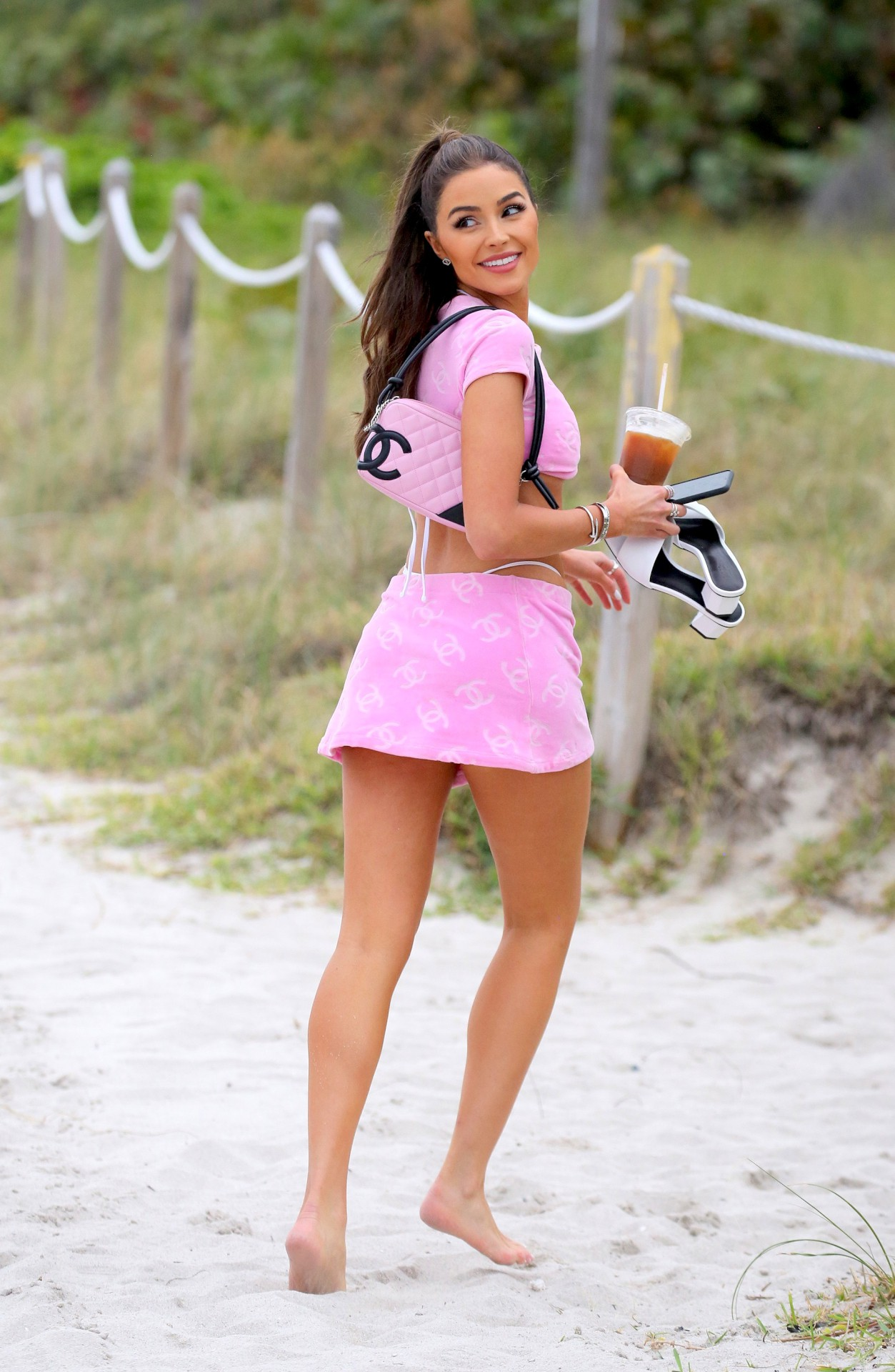 Olivia Culpo Sexy In Small Bikini