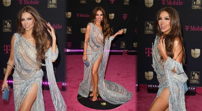 Thalia – Sexy Legs at Univision's Premio Lo Nuestro 2020 in Miami