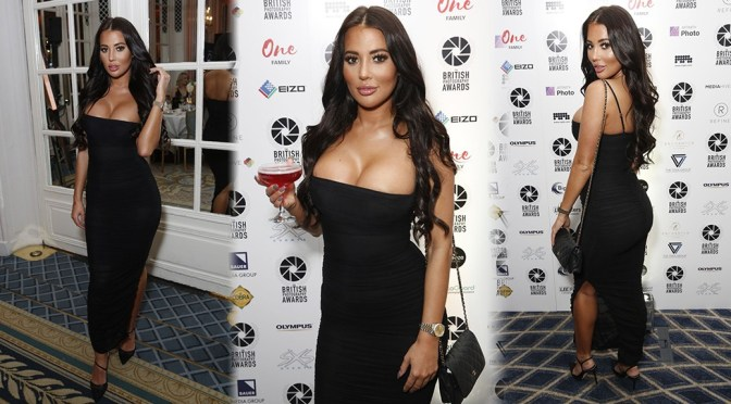 Yazmin Oukhellou – Sexy Huge Boobs at the British Photography Awards in London