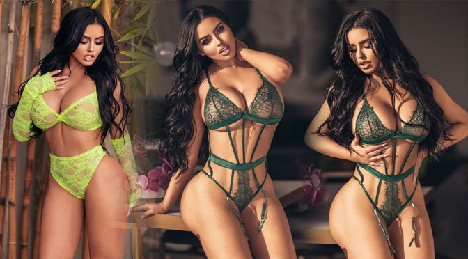 Abigail Ratchford – Hot Big Boobs in Sexy Lingerie Photoshoot