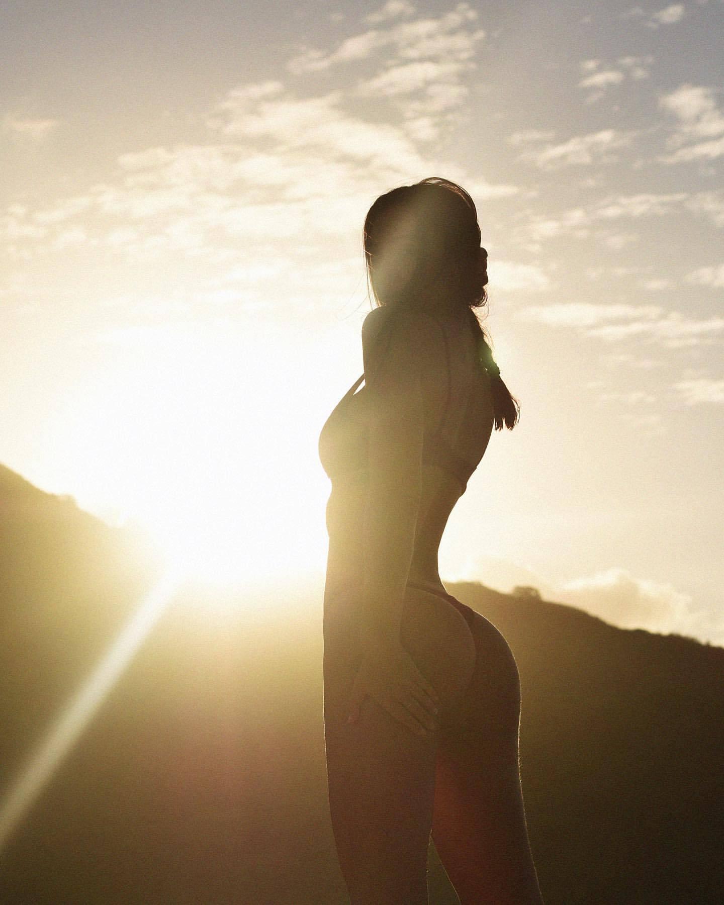 Alexis Ren Thong Bikini Photoshoot