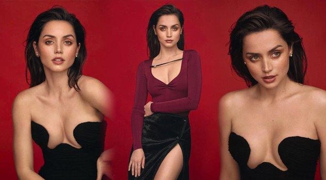 Ana de Armas – Sexy Boobs in Vogue Spain Magazine Photoshoot (April 2020)