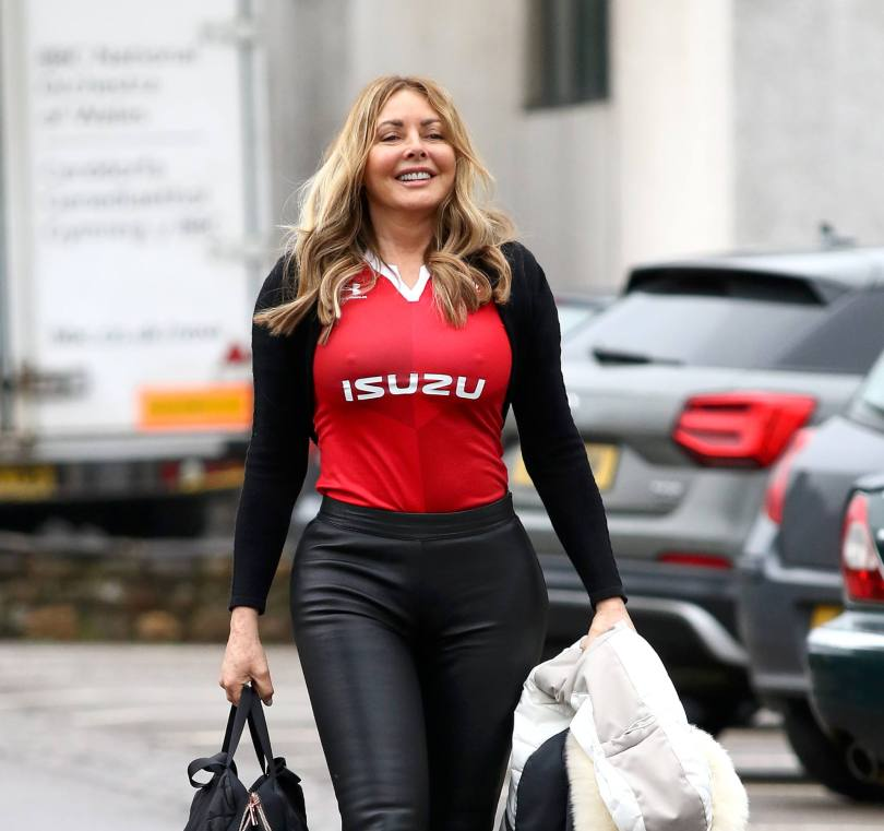 Carole Vorderman Sexy Pokies And Big Ass
