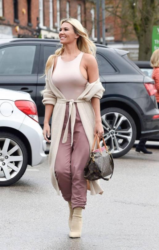 Christine Mcguinness Huge Braless Boobs