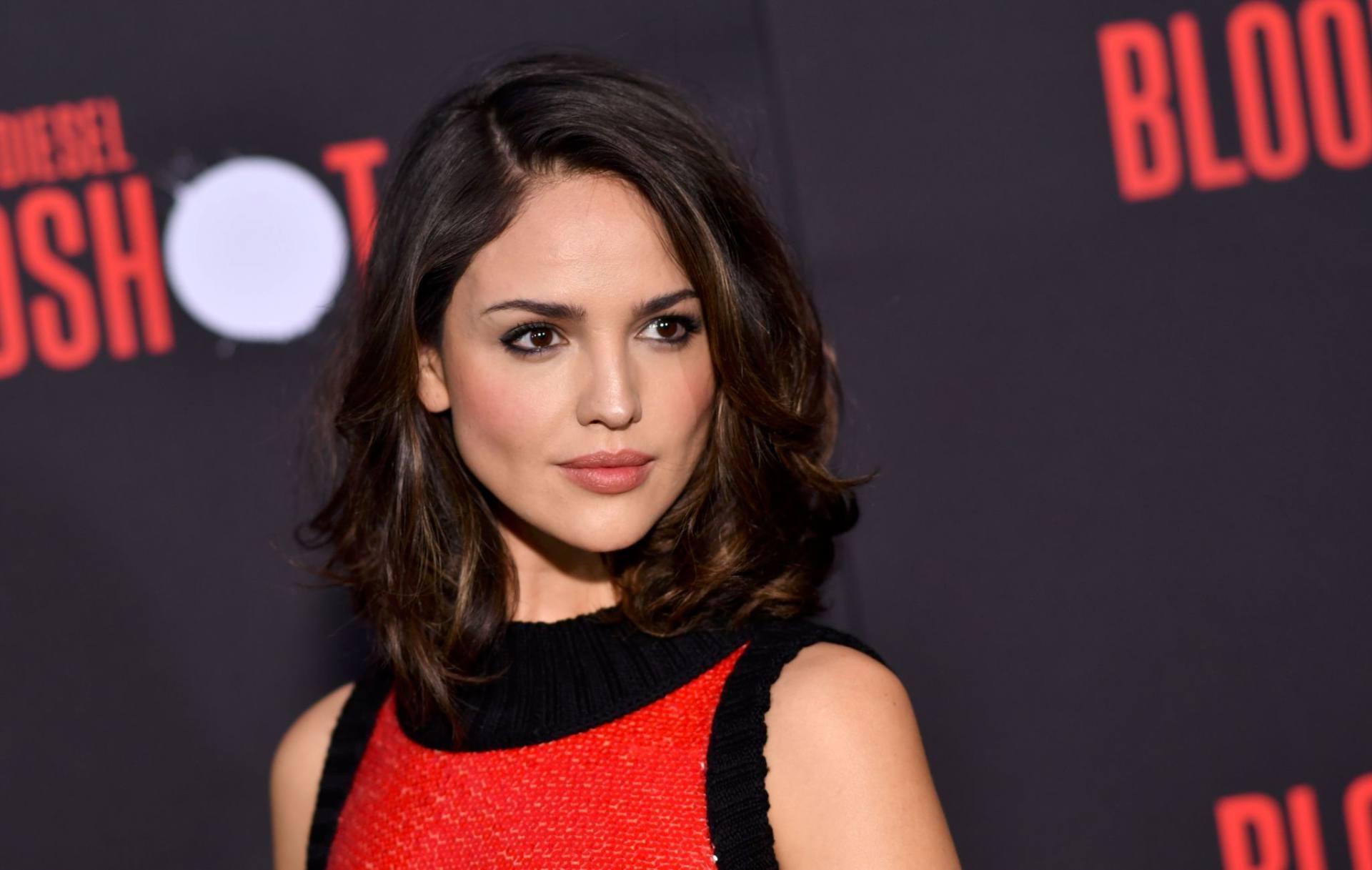 Eiza Gonzalez Hot Red Dress