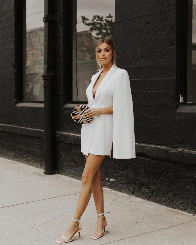 Elitabeth Turner Beautiful In White Dress