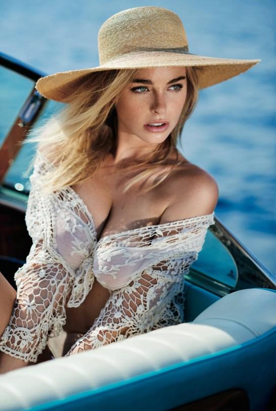 Elizabeth Turner Sexy Maxim Photoshoot