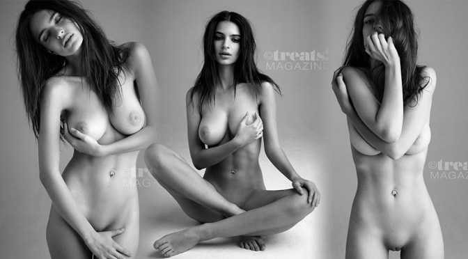 Emily Ratajkowski Perfect Boobs And Pussy