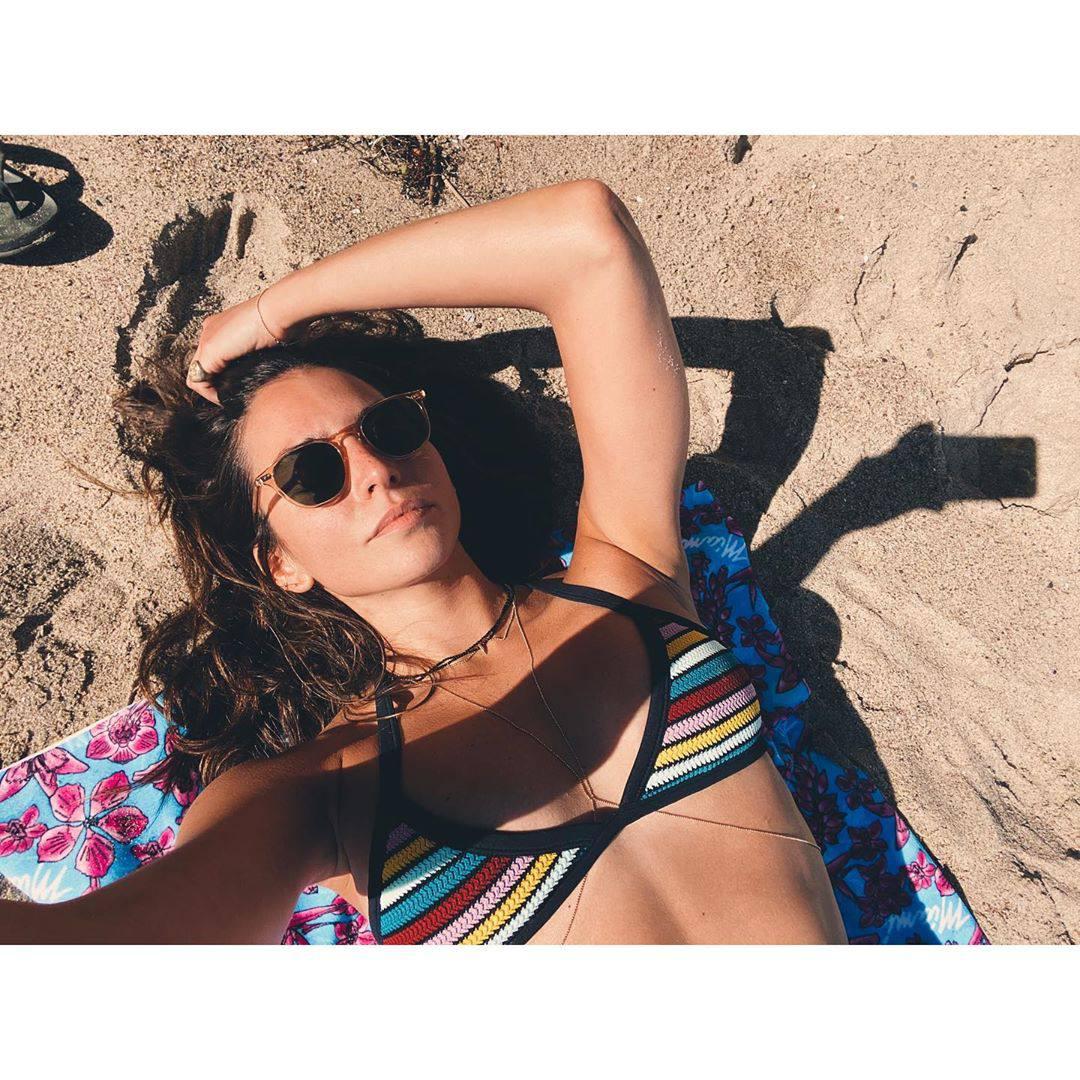 Genesis Rodriguez Beautiful In Bikini On Beach