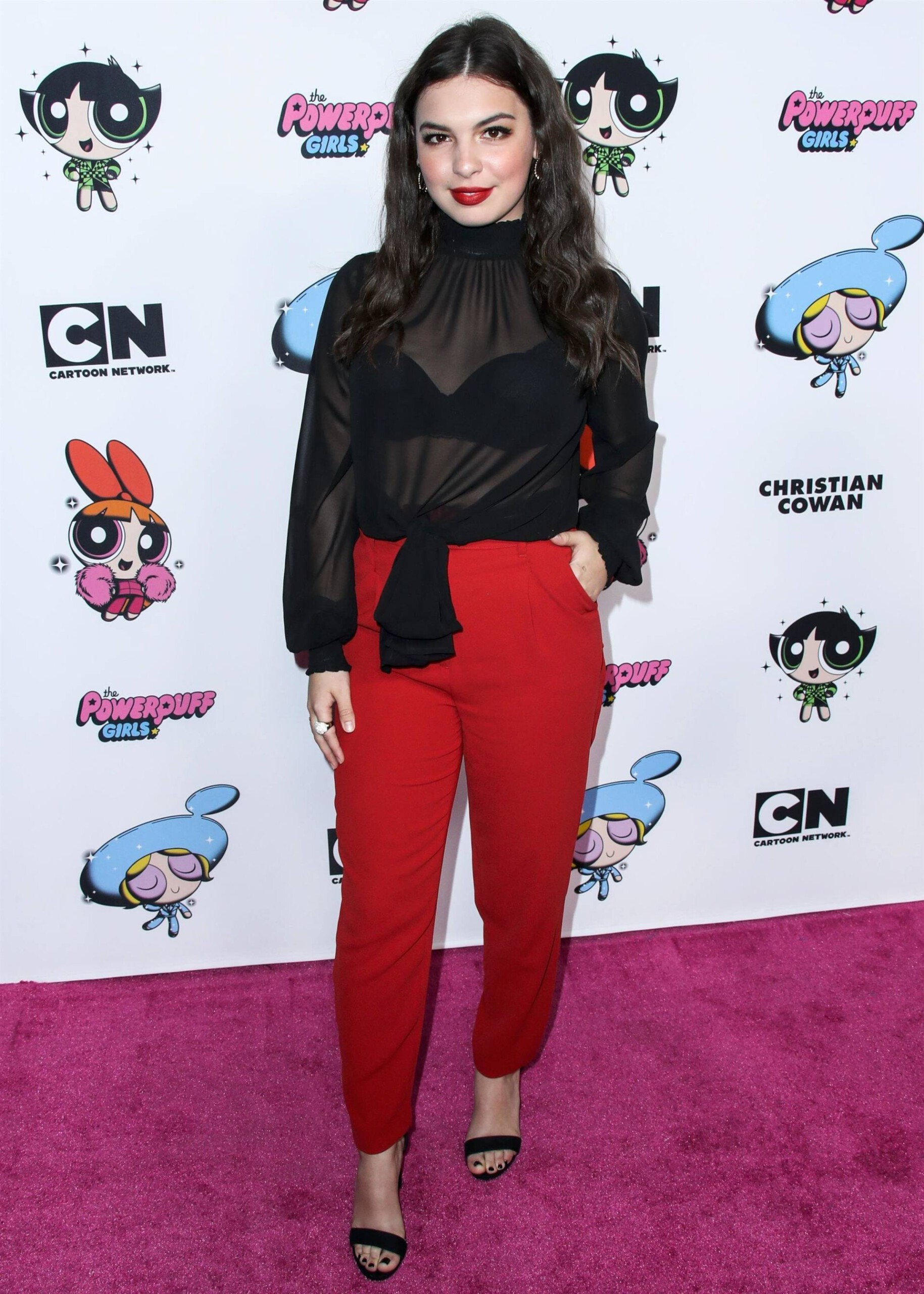 Isabella Gomez Beautiful In See Through Top