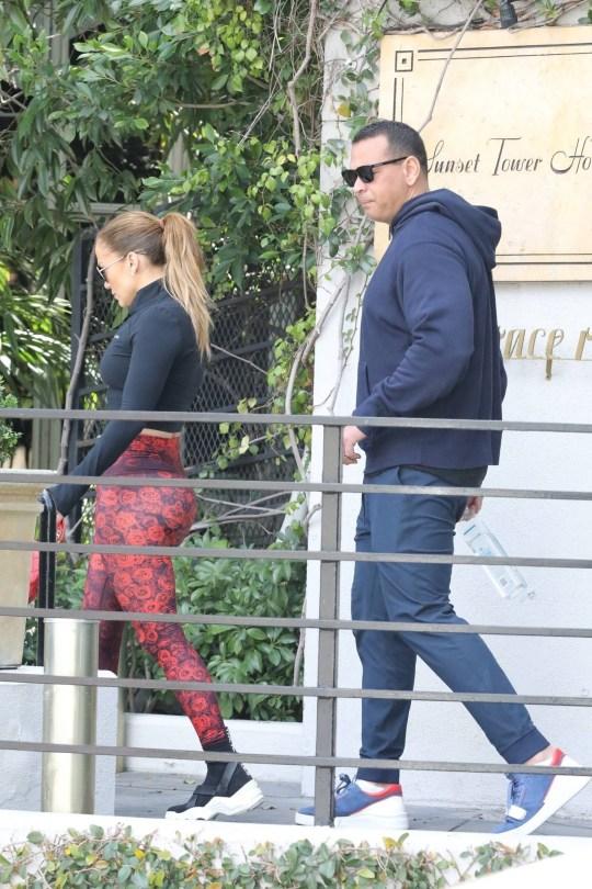 Jennifer Lopez Big Ass In Leggings