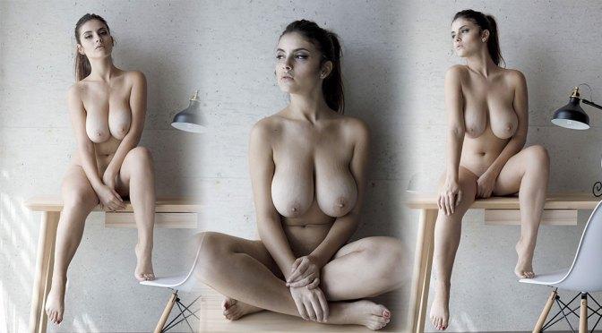 Judit Guerra – Beautiful Big Boobs in Sexy Topless Photoshoot (NSFW)