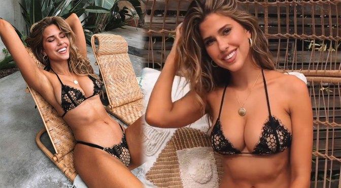 Kara Del Toro – Beautiful Body in Sexy Black Bikini Video