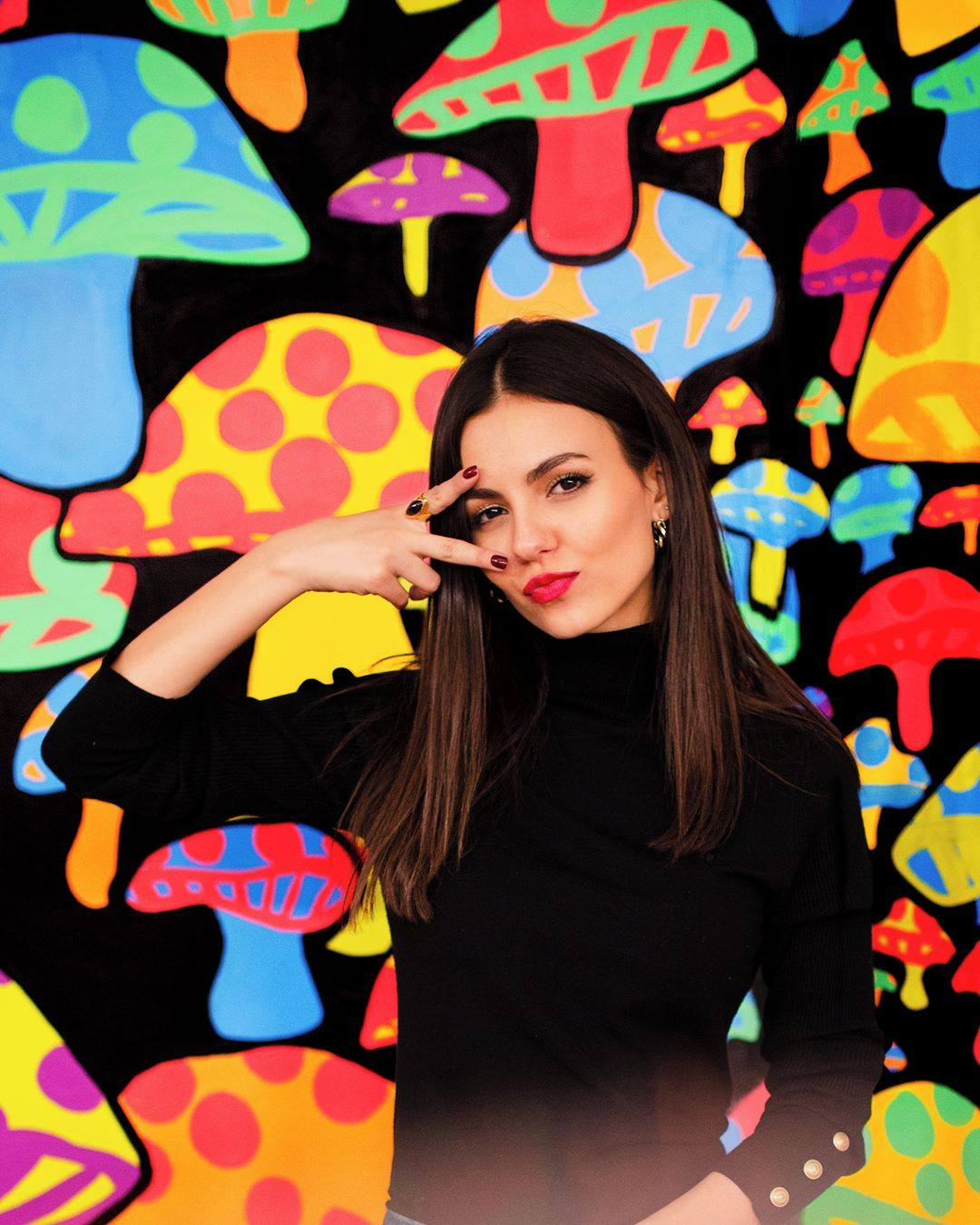 Victoria Justice Pose In Beautiful Photoshoot By Mike Monaghan.