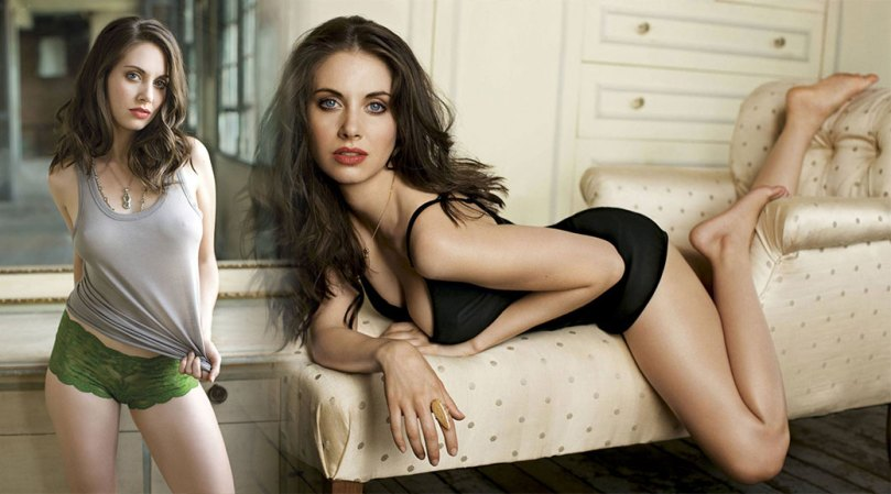 Alison Brie Sexy In Lingerie
