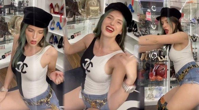 Bella Thorne – Sexy Body in Racy Dance Video