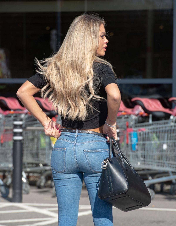 Bianca Gascoigne Sexy Ass