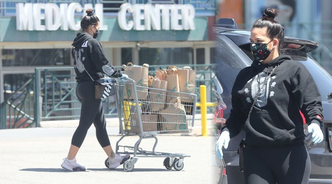 Cassie Ventura – Sexy Ass in Tight Leggings Out in Los Angeles