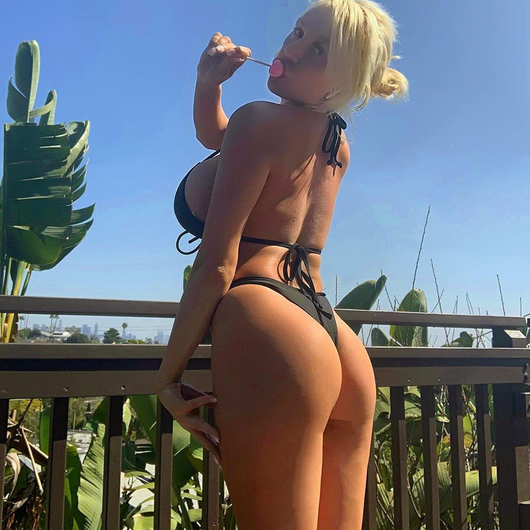 Courtney Stodden Hot Ass In Bikini