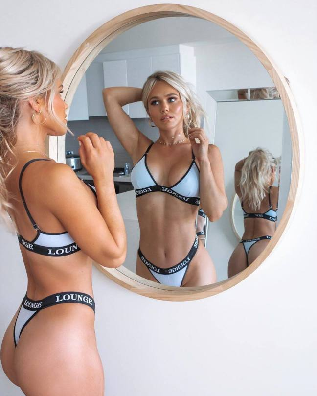 Hilde Osland Fantastci Body In Underwear