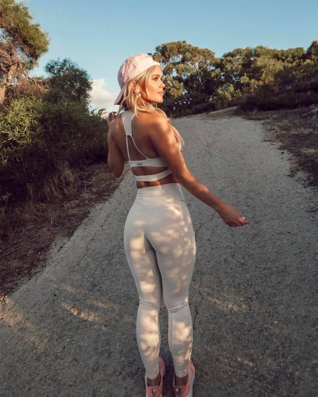 Hilde Osland Sexy In Leggings