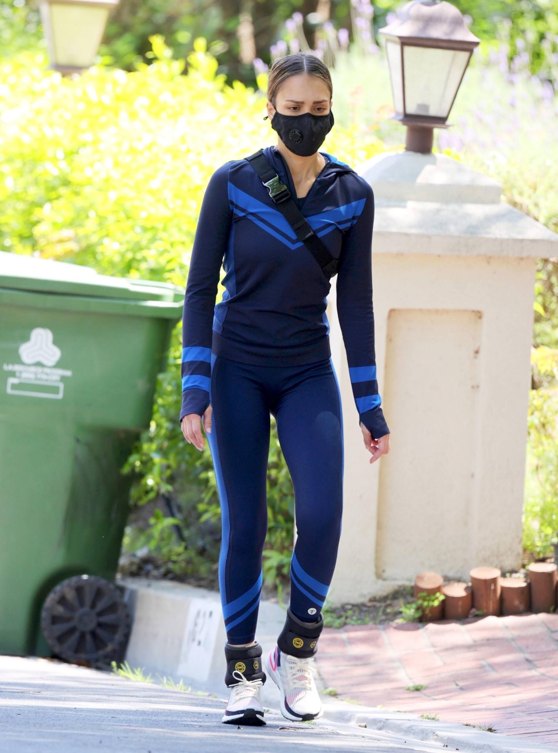 Jessica Alba - Tight Candids in Santa Monica-26 - GotCeleb