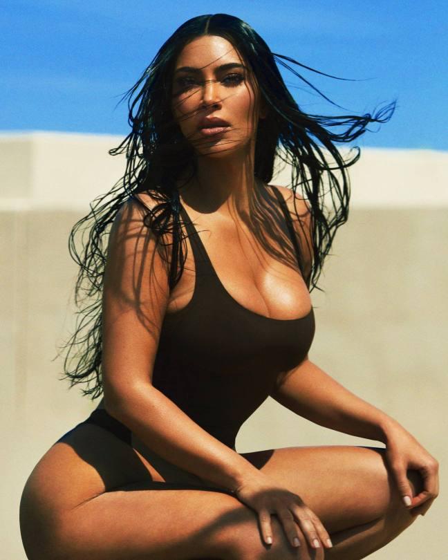 Kim Kardashian Beautiful Boobs