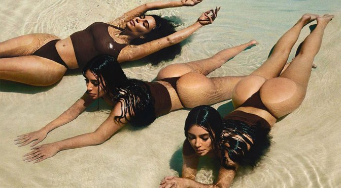 Kim Kardashian – Sexy Big Ass in Thong Bikini Photoshoot