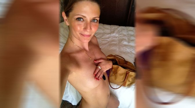 Mischa Barton – Sexy Naked Selfie in Personal Leaks Preview