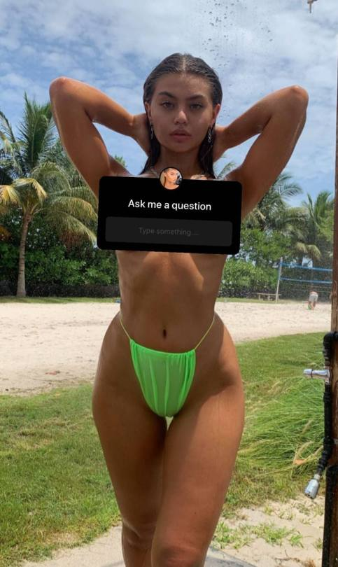 Sofia Jamora Wet And Topless