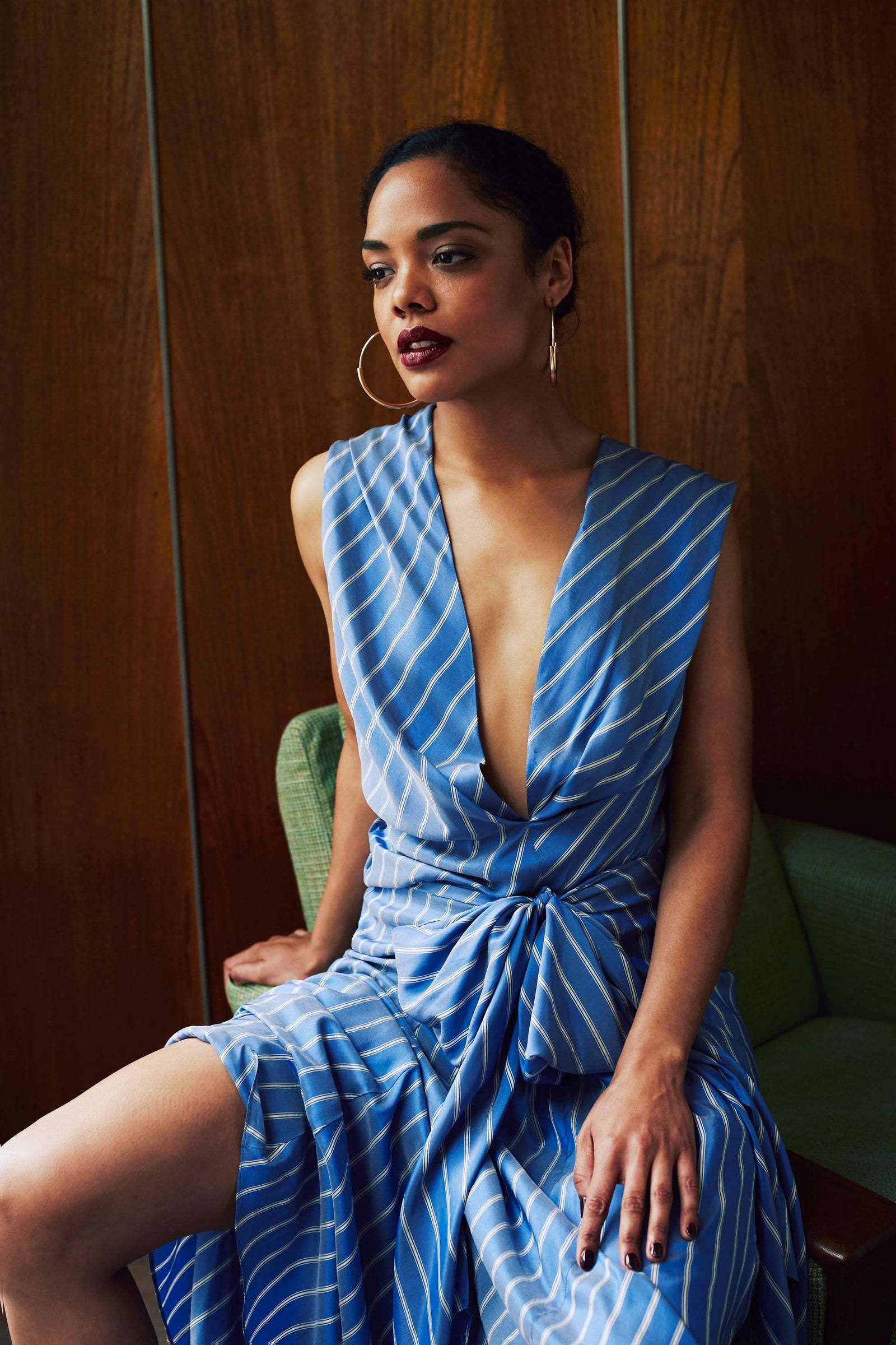 Tessa Thompson - Beautiful Photoshoot by by Guy Lowndes