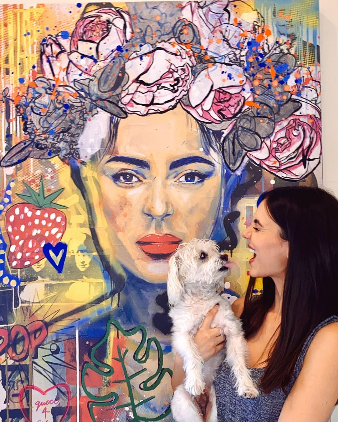 Victoria Justice Beautiful With Dog