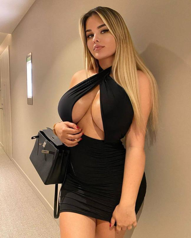 Anastasia Kvitko Monster Boobs