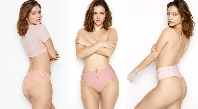 Barbara Palvin – Sexy Braless Photoshoot for Victoria's Secret Lingerie Campaign (May 2020)