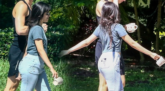 Camila Cabello – Sexy Ass in Sweatpants Out in Coral Gables