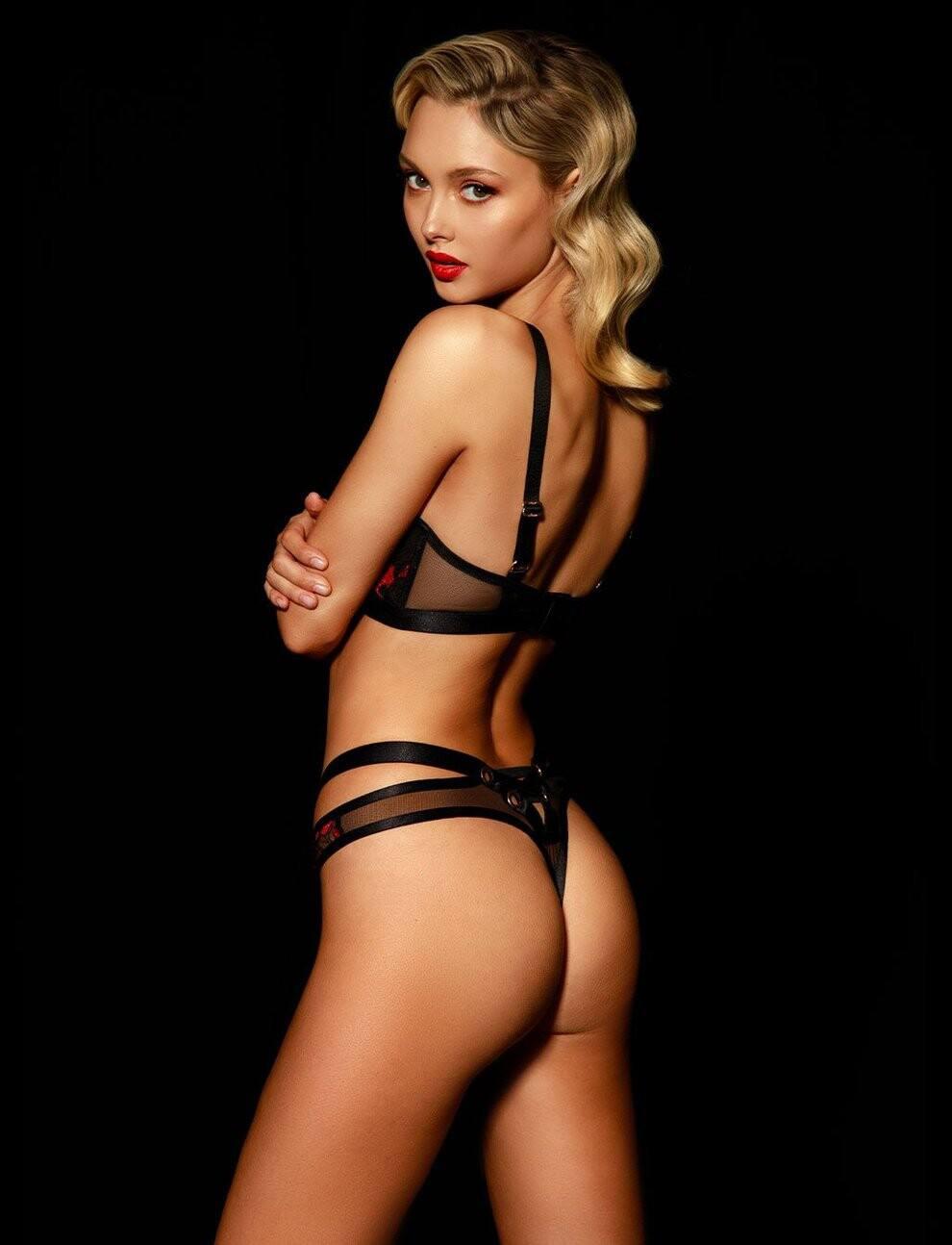 Chloe Avenaim Sexy Lingerie