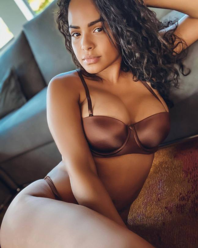 Christina Milian Sexy In Lingerie