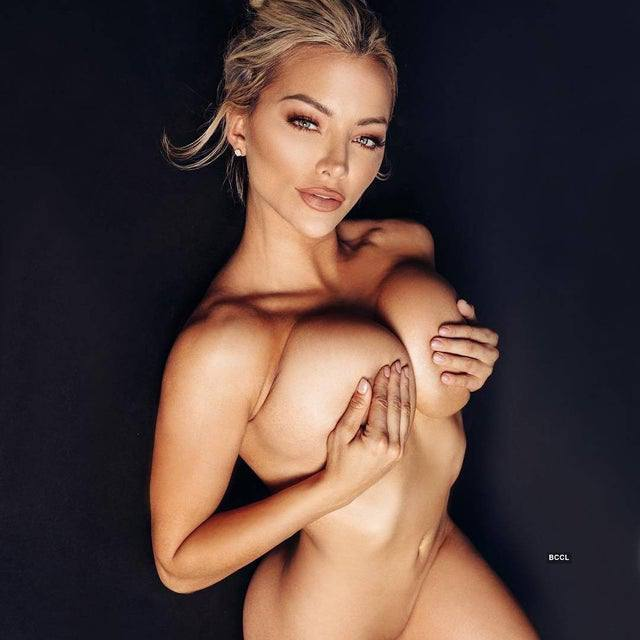 Lindsey Pelas Topless Tits