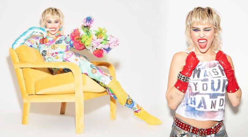 Miley Cyrus Sexy Magazine Photoshoot