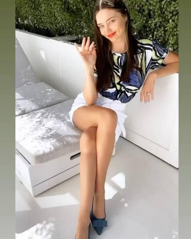 Miranda Kerr Beautiful Legs