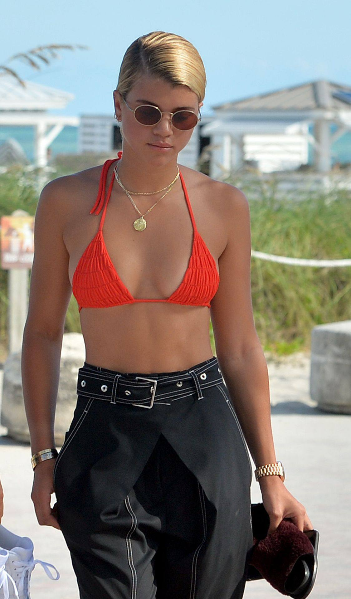 Sofia Richie Sexy Breasts