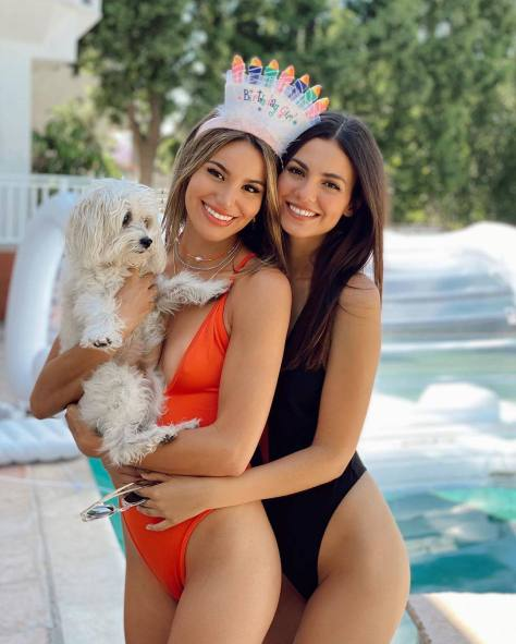 Victoria Justice And Madison Reed Hot Swimsuits