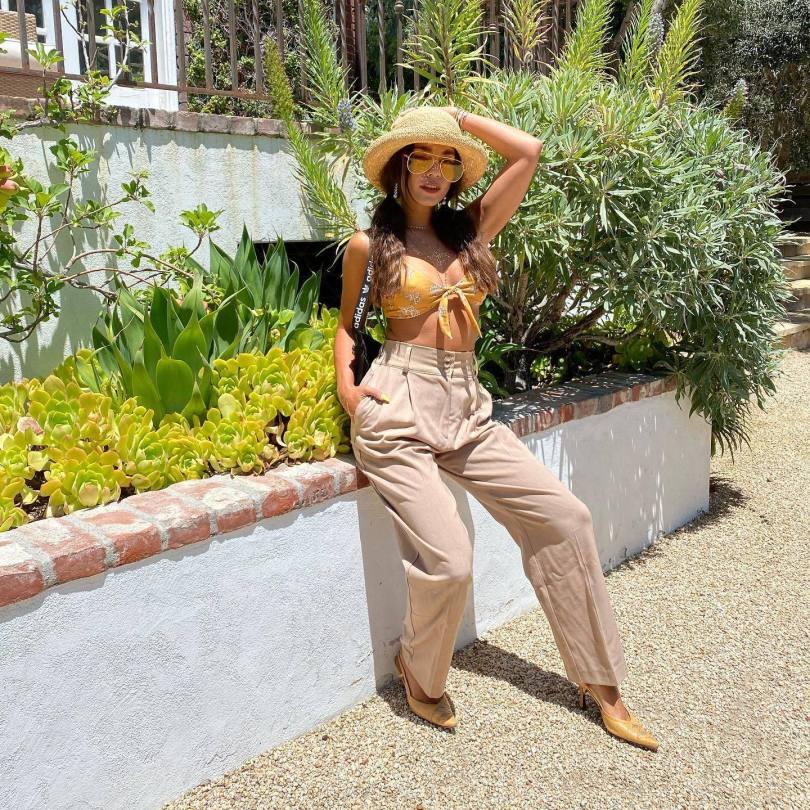 Vanessa Hudgens Sexy Boobs In Bikini Top