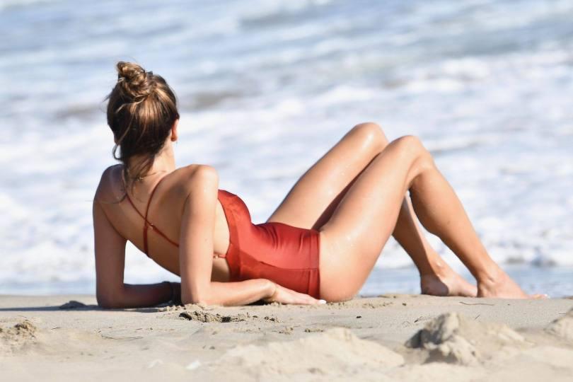 Alessandra Ambrosio Sexy Swimsuit