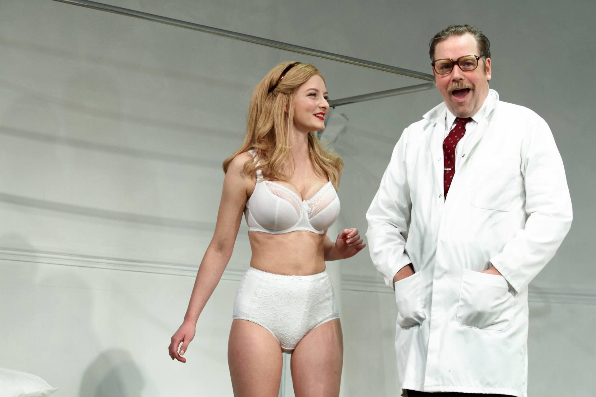 Dakota Blue Richards Sexy In Underwear